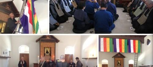 Zuigan-ji Delegation Visit Roshi